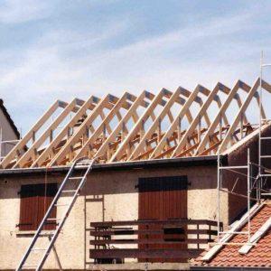 Extension et rehaussement toiture 94